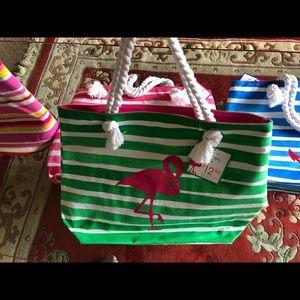Handbags - Brand. Ew beach bags with tags